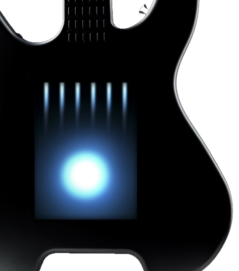 Guitarra touch screen con Linux